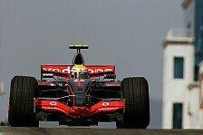 Formel 1 - Hamilton kontert Ferrari: 2. Freies Training