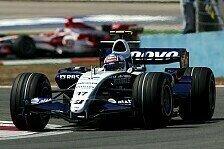 Formel 1 - K�mpfen - wie immer: Alex Wurz