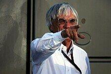 Formel 1 - Hauptsache Schlagzeilen: Ecclestone ist gl�cklich