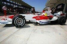 Formel 1 - Harte Arbeit: Trulli will Punkte