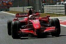 Formel 1 - Nur der Sieg z�hlt: Ferrari liegt im Plan
