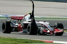 Formel 1 - Ausbr�che als m�gliche Ursache: Hamiltons Reifenschaden