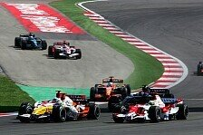 Formel 1 - Konkurrenzf�hig: Renault kraxelt weiter hinauf