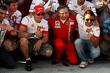 Formel 1 - Keine Lust zur�ckzutreten: Ferrari-Debriefing mit Jean Todt