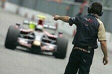 Formel 1 - Das Arbeitsprotokoll des 1. Testtages: Testing Time