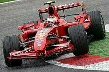 Formel 1 - Ferrari beginnt standesgem��: 1. Freies Training