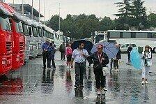 Formel 1 - Testfahrten auf Freitag ausgeweitet: Regen in Monza