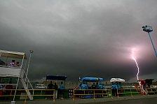 Formel 1 - F�llt das Rennen ins Wasser?: Wetterprognose: Zittern vor dem Taifun