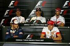 Formel 1 - Ein Thema f�r jeden: Donnerstags-Pressekonferenz
