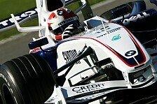 Formel 1 - Die Strecke war anders: BMW Sauber hatte Arbeit