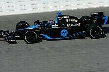 IndyCar - Patrick bezwingt Grippe und Konkurrenz: Homestead-Test