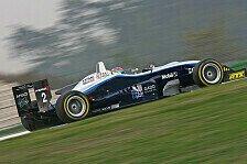 F3 Euro Series - Sieger H�lkenberg, Meister Grosjean: Hockenheim, Rennen 1