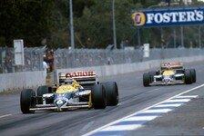 Formel 1 - 1986 den Titel an Prost verspielt: Mansell und Piquet �ber ihre Rivalit�t