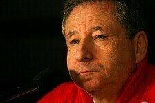 Formel 1 - Das Team steht fest: Jean Todt kandidiert als FIA-Pr�sident