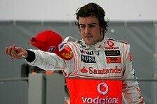 Formel 1 - Wenn er zu haben w�re, ...: Alonso bei McLaren willkommen