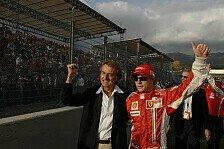 Formel 1 - Auf einer Stufe mit den Besten: Montezemolo: Alonso profitiert von R�ikk�nen
