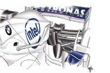 Formel 1 - Bilderserie: Der F1.07 im Wandel der Zeit