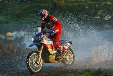 Dakar - Casteu behauptet F�hrung: 2. Etappe Motorrad: Sieg f�r Fretigne