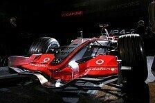 Formel 1 - Die Nummer 1 kommt: McLaren pr�sentiert am 16. Januar