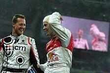 Formel 1 - Ein neuer Anlauf: Michael Schumacher beim Race of Champions