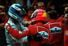 Michael Schumacher: Für Mika Häkkinen größer als Ayrton Senna