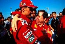 Formel 1 - Kann mir keinen Besseren vorstellen: Schumacher unterst�tzt Todt