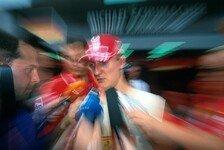 Formel 1 - Michael Schumacher appelliert an die Medien