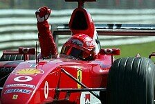 Formel 1 - Weltmeisterschaften, nicht Siege z�hlen: Schumacher: Liebe Ferrari und Mercedes