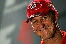 Formel 1 - Rehabilitation hat begonnen: Michael Schumacher nicht mehr im Koma