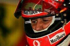 Formel 1 - Denken von Tag zu Tag: Schumachers Zustand stabil, aber weiter kritisch