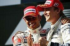 Formel 1 - Von Tigerbalsam, Pingpong & Dates: Rosberg & Hamilton: Mercedes' neues Traumduo