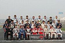Formel 3 EM - Testfahrten - Valencia