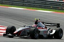 GP2 Asien - Zuber verlor �l: Kobayashi Schnellster beim Testauftakt