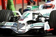 Formel 1 - Flossen, Nasen, Slicks und Barrichello: Barcelona, Tag 2