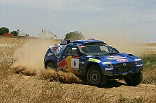 Dakar - Sainz gibt den Ton vor: 1. Etappe, Central Europe Rally
