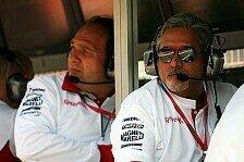 Formel 1 - Operation Teamrettung: Ger�cht - Kolles zu Force India?