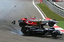 Formel 1 - Bilderserie: F1 in Action - Crashes