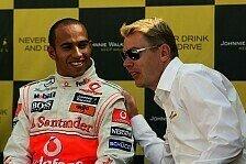 Formel 1 - R�ckkehr in den Paddock: Ger�cht - H�kkinen als Hamilton-Manager