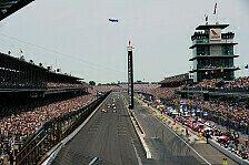 IndyCar - Zu schlechtes Wetter: Rookie-Test in Indy verschoben
