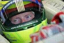 Formel 1 - Auf der Liste: Mike Conway testet f�r Mercedes GP