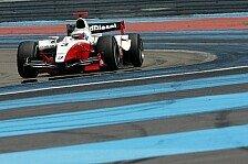 GP2 - Vorbereitung f�r Spa und Monza: Filippi und Senna Schnellste bei GP2 Tests