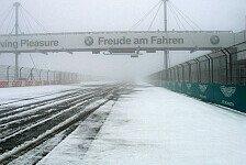 VLN - Winter h�lt weiter an: Schnee & Eis: 1. Lauf abgesagt