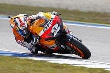 MotoGP - Der Titel bleibt das Ziel: Pedrosas Mission wird schwieriger