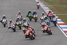 MotoGP - Das Alter, die Reifen und Helmpflicht: Regel�nderungen in der MotoGP