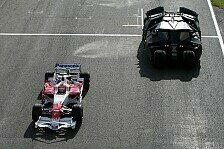 Formel 1 - Video: Toyota vs. Batmobil