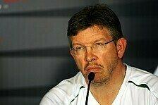 Formel 1 - H�tten gewinnen k�nnen: Brawn glaubt an Siegerauto