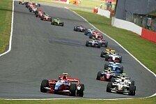 GP2 - Harter Kampf mit falschem Setup: Bruno Senna