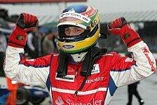 GP2 - Siegreiches Wohlf�hlen im Regen: Bruno Senna