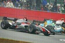 GP2 - Schlechte Sicht, schlechte Haftung: Rutschpartie in Silverstone