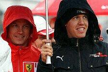Formel 1 - Muss nicht einmal mehr gewinnen: R�ikk�nen: Vettel so gut wie Weltmeister